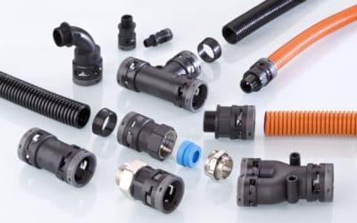 Kabelschutz mit dem Wellrohrsystem PFLITSCH ProTect