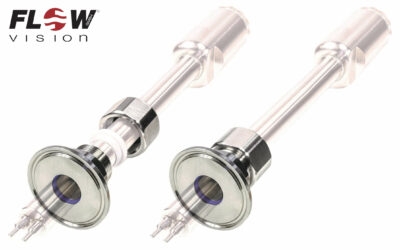 FlowVision Hygieneflansch HEF für alle variablen Einschiebesensoren